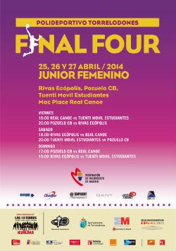 Fase final femenina junior de Baloncesto en Torrelodones