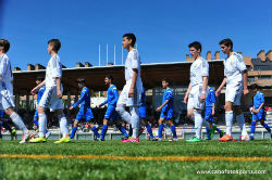 El Real Madrid CF se proclama campeón del I Torneo de futbol infantil Ángel Lanchas.