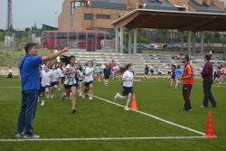 Jornadas de atletismo escolar en Torrelodones: con ganas pero con falta de instalaciones
