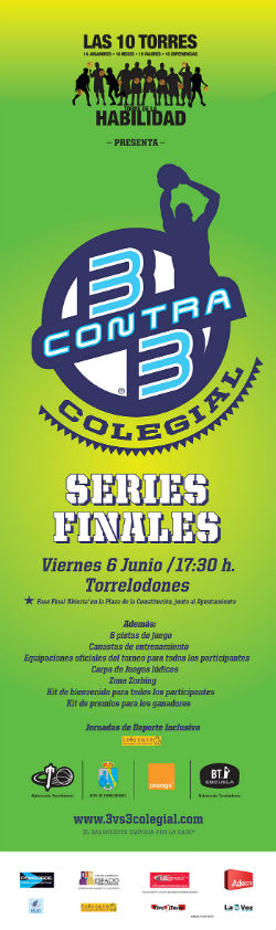 Series Finales del Orange 3vs3 Colegial 2014 en Torrelodones