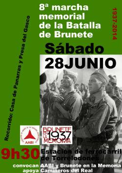 8ª Marcha memorial de la Batalla de Brunete en Torrelodones