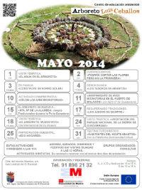 Mayo, repleto de actividad en el Arboreto Luis Ceballos