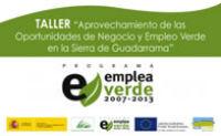 Taller en Hoyo de Manzanares para crear empleo verde en la Sierra Guadarrama