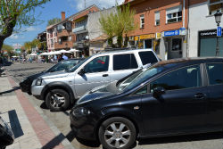 La calle Real de Torrelodones amedio peatonalizar y a medio reformar
