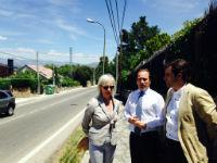 Galapagar solicita a la Comunidad de Madrid una senda peatonal hasta Colmenarejo