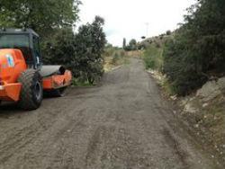 Se inicia la campaña de asfaltado en Torrelodones