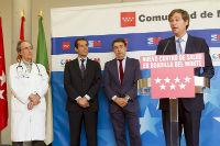 El presidente de la Comunidad de Madrid inaugura el centro de salud Infante Don Luis de Borbón