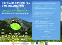Llega a Cerceda la III edición de la Feria de Naturaleza y Medio Ambiente.