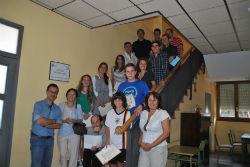 Se entregan los premios del concurso anual de redacción de la escuela municipal de idiomas