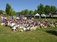250 escolares participan en el IV cross contra la meningitis