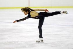 La torresana Sofía Val, campeona de España infantil de patinaje sobre hielo