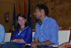 Zersenay Tadesse visitó Torrelodones
