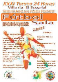 XXXI Edición de las 24 Horas de Fútbol Sala Villa de El Escorial