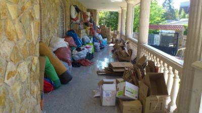 Torrelodones hace entrega de 23 cajas de medicamentos a la Embajada de Palestina