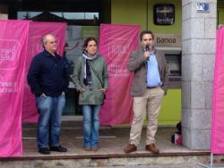 El escándalo de Bankia en un acto público de UPyD en Torrelodones