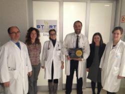 """INC Research ha entregado el premio """"Clinical Research Award"""" a la Unidad fase 1 START Madrid-HM CIOCC"""
