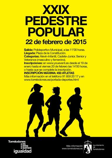 XXIX Pedestre popular de Torrelodones