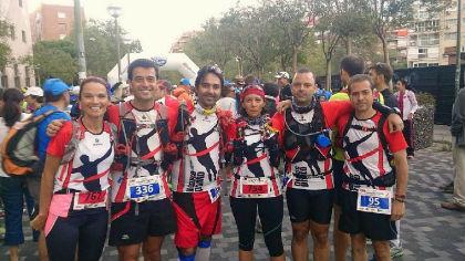 Los corredores torresanos de Llévame pronto mejoran sus marcas en la ultramaratón Madrid-Segovia