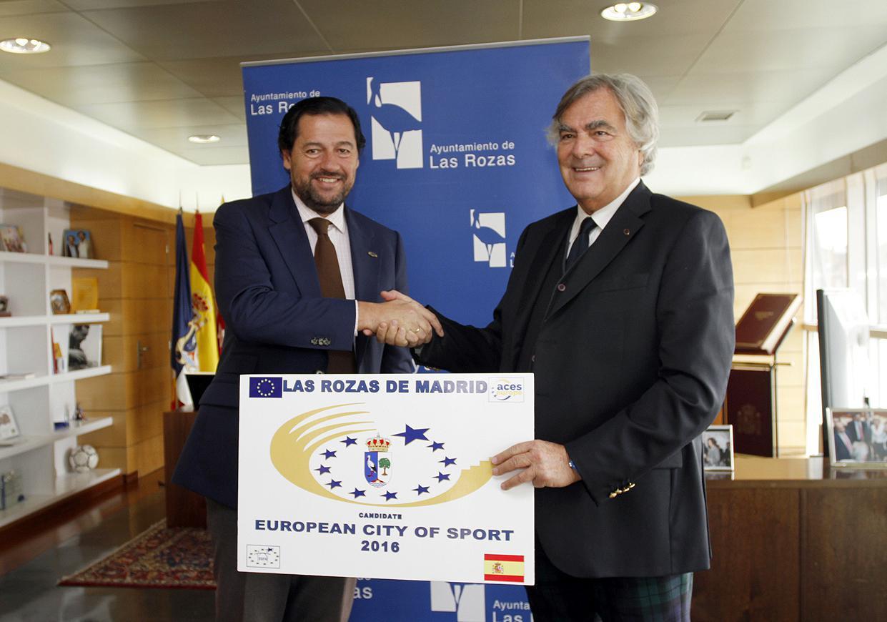 Las Rozas, candidata a Ciudad Europea del Deporte