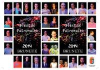 Vecinos de Brunete son por primera vez portada del libro de fiestas2014