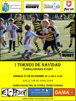 I Torneo de Navidad de rugby infantil