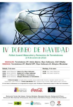 IV Torneo de Navidad de fútbol masculino y femenino en Torrelodones