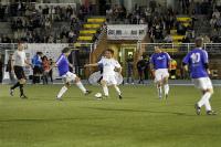 Jugadores veteranos del Real Madrid disputan en Las Rozas el V Memorial Ramón Grosso
