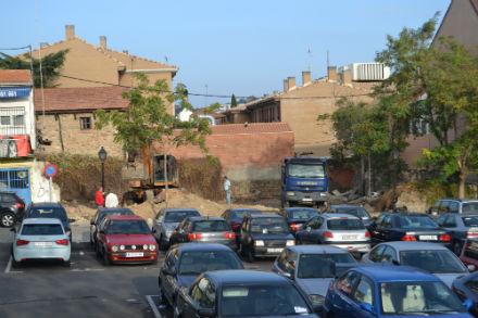 Negociaciones para la ampliación de parking de la calle Real
