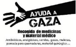 Ayuda a Gaza. Recogida de alimentos y medicinas en Torrelodones