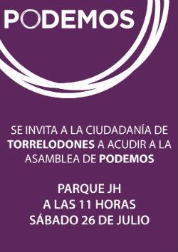 Asamblea abierta para constituir el Círculo Podemos Torrelodones