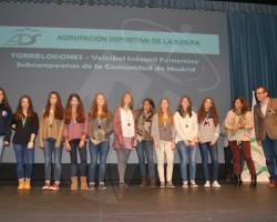 Celebrada en Torrelodones la VI gala del deporte de la Agrupación Deportiva de la Sierra.