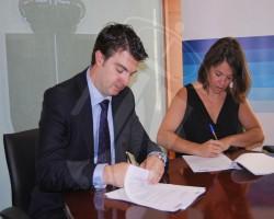 Suscrito un acuerdo con el BBVA para fomentar el empleo y el crecimiento empresarial