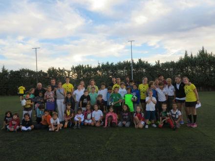 Más de 40 niños y niñas para el Torrelodones Rugby Club