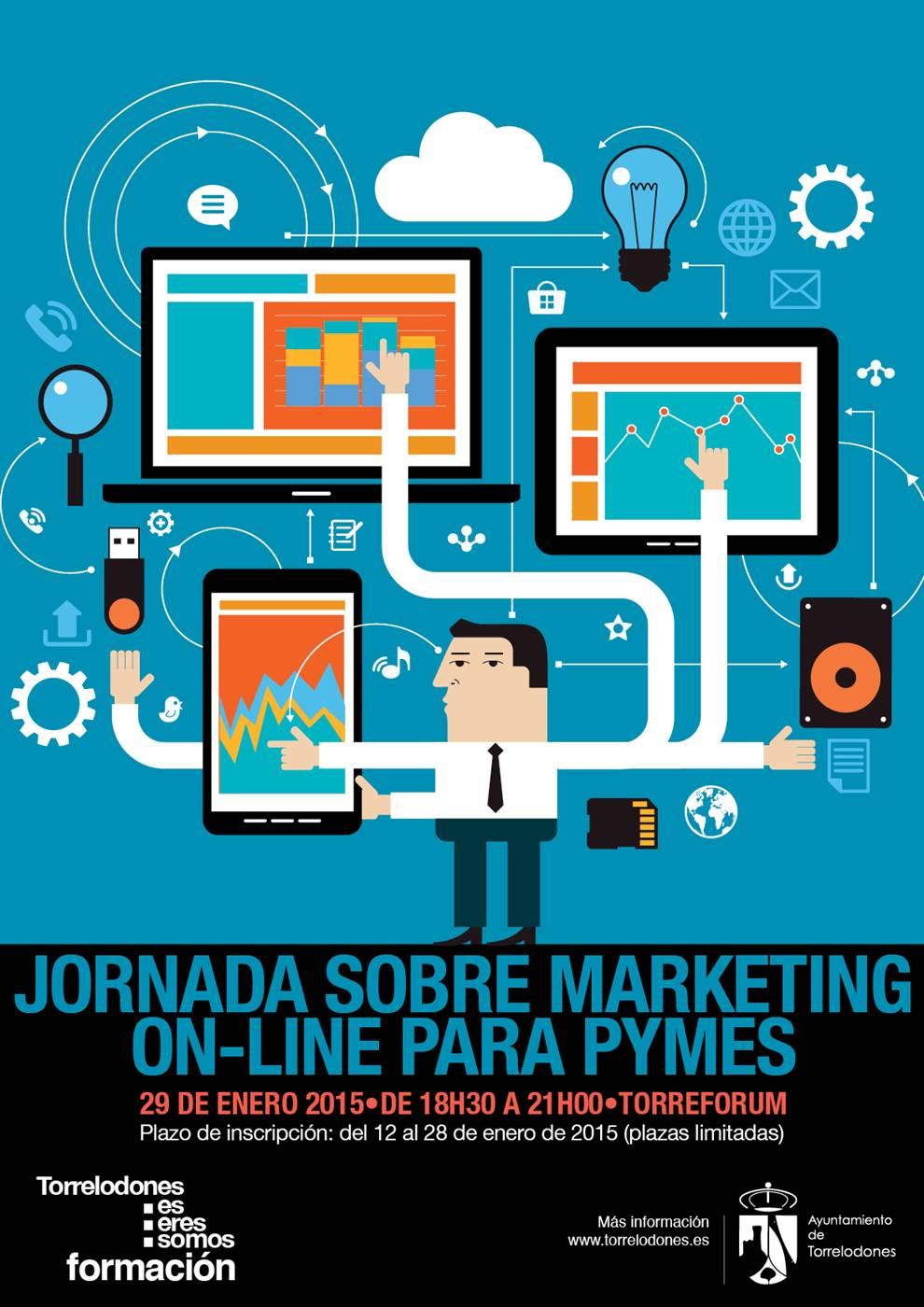 Jornada de iniciación al marketing on line para PYMES en Torrelodones