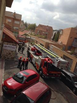 Incendio en la pizzería Luigi Cuciniello