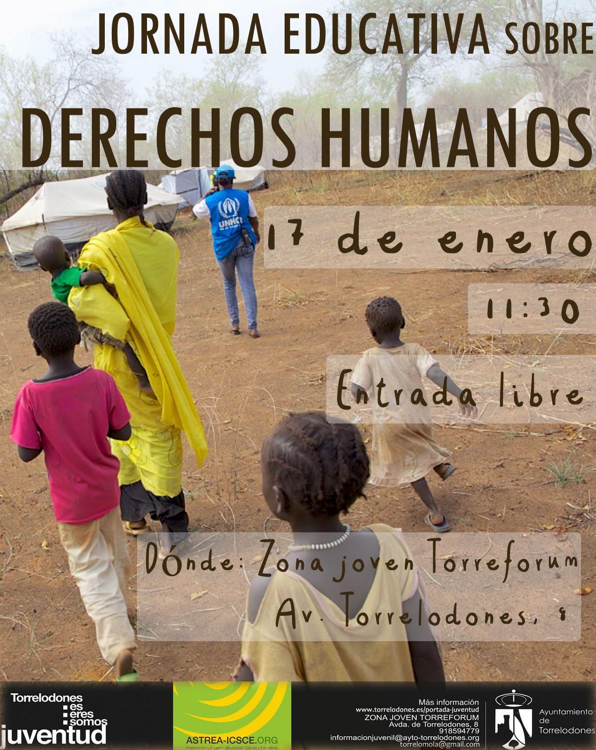 Jornada educativa sobre derechos humanos en Torreforum