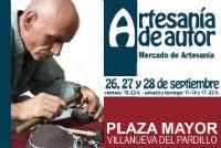 Mercado Artesanal de Autor, 26, 27 y 28 de Septiembre en Villanueva del Pardillo