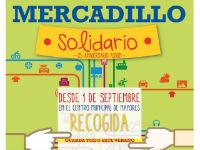 Mercadillo solidario en Villanueva del Pardillo en favor de ASION