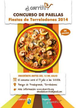 La peña El Carrito de Torrelodones organiza su segundo concurso de paellas