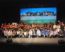 Celebrado el merecido homenaje a los voluntarios de Protección Civil de Torrelodones