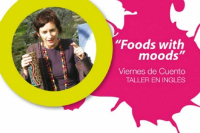 Foods with moods. Taller en inglés.