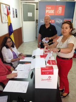 El candidato socialista Pedro Sánchez ganó en Torrelodones