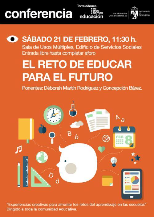 Charla sobre retos creativos para la Educación