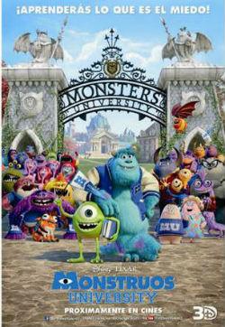 Cine de verano: Monstruos University