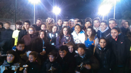 Lara Zugasti del club de tenis Torrelodones gana el Torneo de Navidad de Colmenar Viejo