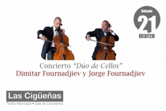 Concierto: Dúo de Cellos.
