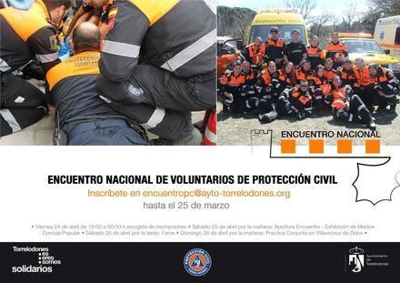 Voluntarios de Protección Civil de toda España se darán cita en abril en Torrelodones