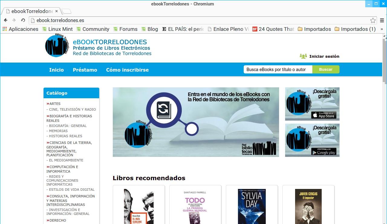 Las bibliotecas de Torrelodones ya prestan libros electrónicos