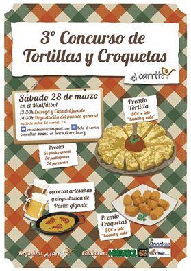 III Concurso de tortillas y croquetas de la peña El Carrito de Torrelodones