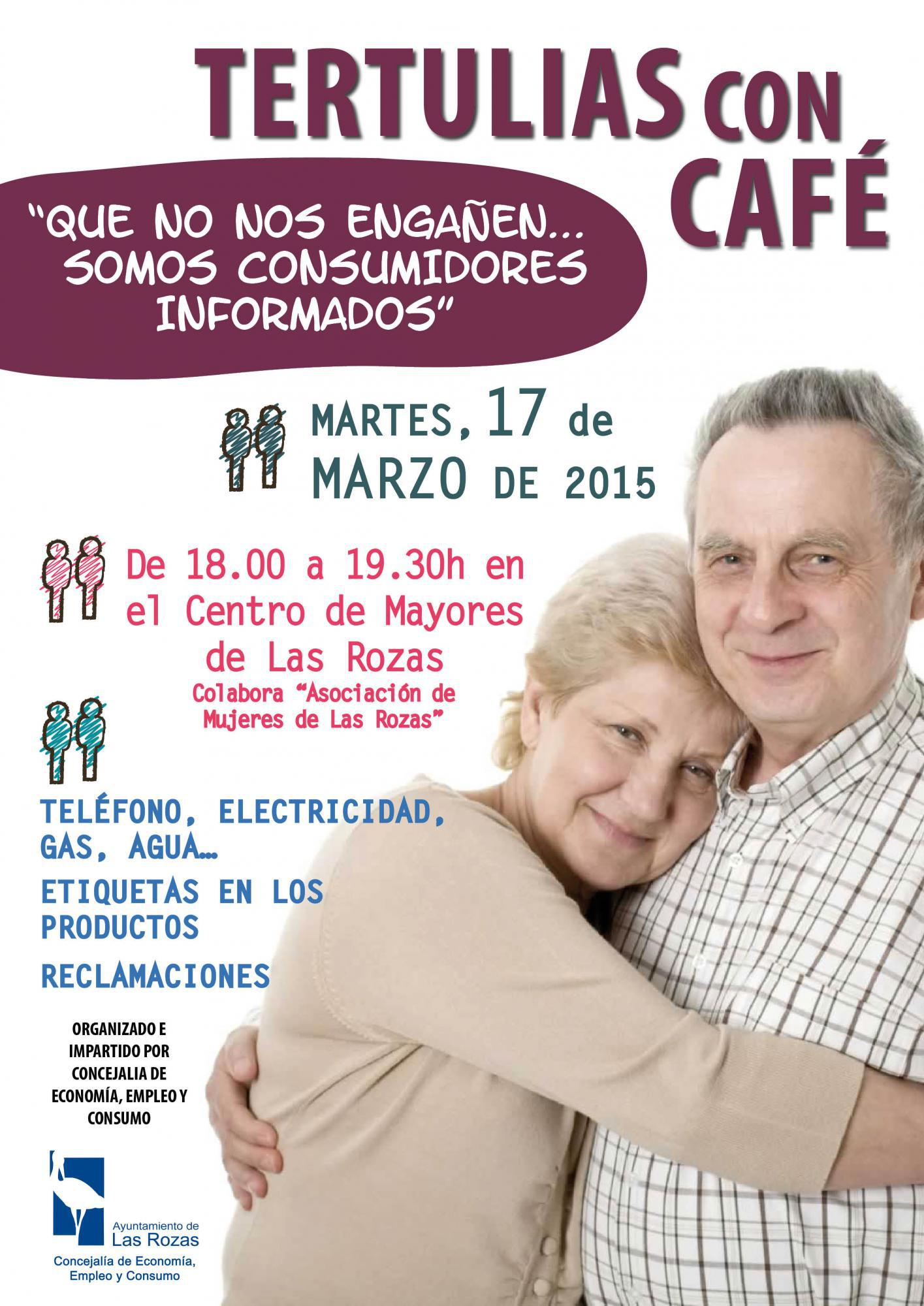 Tertulias con café, para celebrar en Las Rozas el Día Mundial de los Derechos del Consumidor